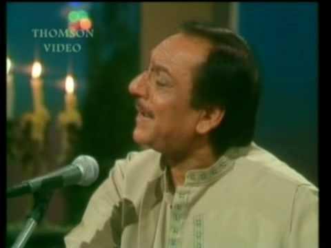 Gaye Dino'n Ka Suraagh Ley Kar Kidher Say Aaya Kidher Gaya Woh - Ghulam Ali Live