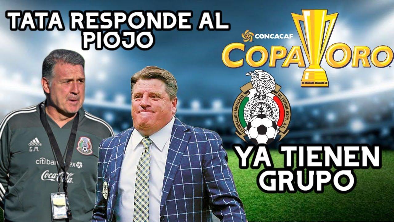 🚨 El TATA Martino Responde a Miguel Herrera   La seleccion mexicana ya tiene grupo de Copa Oro🚨