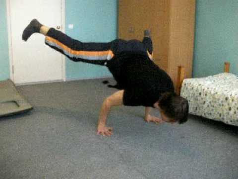 Straddle planche training