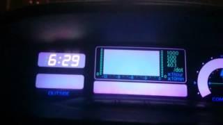 особенность настройки яркости бортового компьютера ПРАДО 120