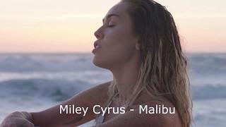 Скачать Miley Cyrus Malibu Русские субтитры