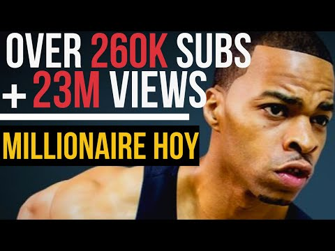 How Millionaire Hoy got 260K YouTube Subs + 23M views