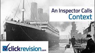 An Inspector Calls – Episode 1: Context