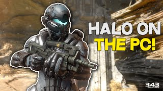 HALO ON THE PC! - Halo Online PC Gameplay