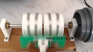 Twin V-Gate Magnetic Rotation - Free Energy Idea