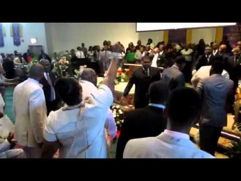 Praise Break at Mama Jessie Woods Funeral part 2