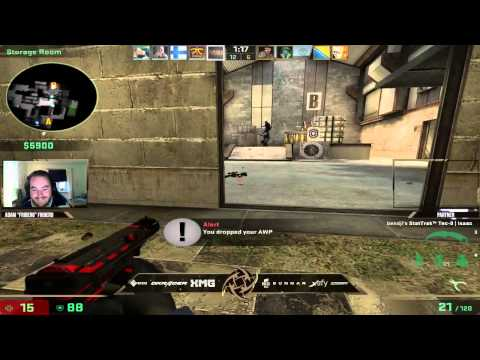 CSGO Pro after missing easy shots