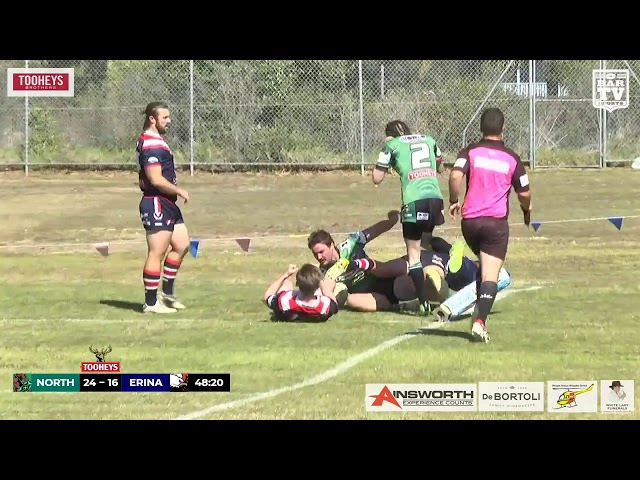 2019 Central Coast RL - Open Grade Round 17 Highlights - Northern Lakes v Erina