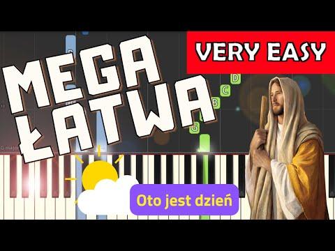 🎹 Oto jest dzień - Piano Tutorial (MEGA ŁATWA wersja) 🎹