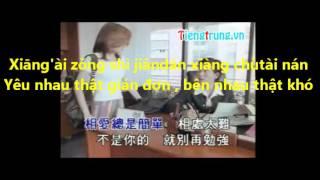học tiếng trung qua bài hát, Xin tai ruan - quá yếu mềm