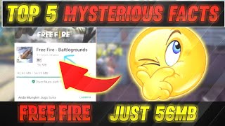 Top 5 Unknown Mysterious Facts🤯 About Free fire || Who invented One tap headshots???🤔