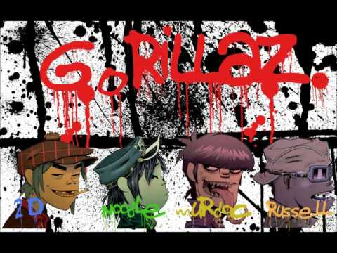 Gorillaz - Clint eastwood  (Audio HD)