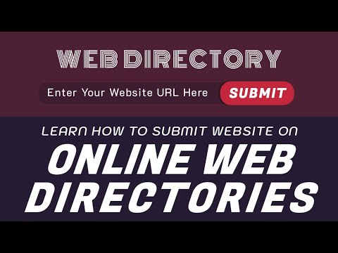 How to submit URL to Online Web Directory - Directory Submission