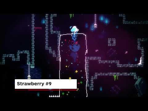 Celeste Walkthrough - All Strawberries in Chapter 2