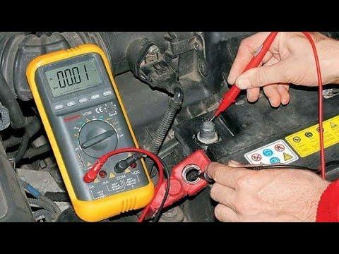Садится аккумулятор. Как найти утечку тока.