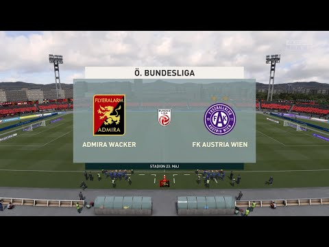 FIFA 21 | Admira Wacker vs FK Austria Wien - Austria Tipico Bundesliga | 26/01/2021 | 1080p 60FPS