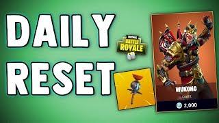 FORTNITE DAILY SKIN RESET & CLINGER GRENADE - Fortnite Battle Royale New Daily Items in Item Shop