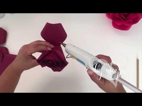 DIY Mini paper rose