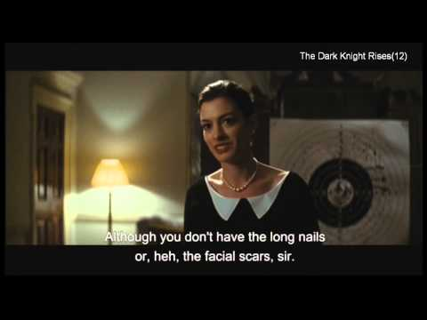 """The Dark Knight Rises (clip1) -""""Is that what they say about me?"""""""