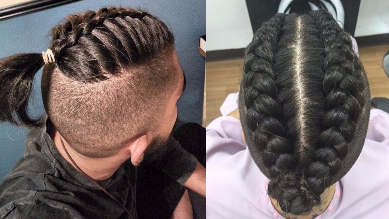 Braids For Men New Braid Hairstyles For Men 20172018Cool Braids Styles for Men  YouTube