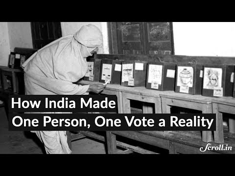 How India Became a Democratic Nation