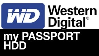 WD my Passport external hard drive Set Up Guide for Mac