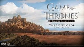 Game of Thrones season 1 episode 2 {The lost lords} full playthrough