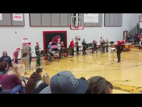 South Fremont High School Drum Line Xmas
