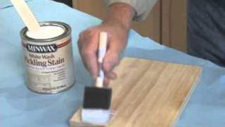 Create A Pickled Finish On Wood With Minwax