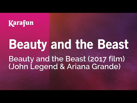 Karaoke Beauty and the Beast - Beauty and the Beast (2017 Film) *