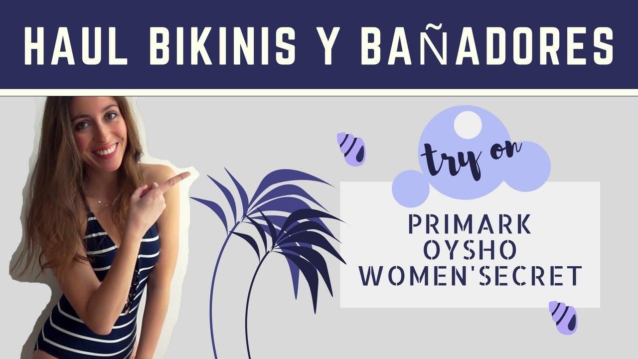 28e138dd7d83 BIKINIS Y BAÑADORES Super try on HAUL // Nueva colección Primark, Oysho