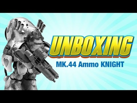 Maschinen Krieger MK44 Ammoknight Hasegawa model Kit UNBOXING - Lincoln Wright