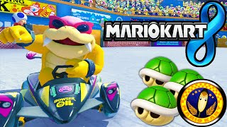 Mario Kart 8: Feather Cup Tournament Online 150cc Roy Gameplay Walkthrough PART 19 Wii U HD