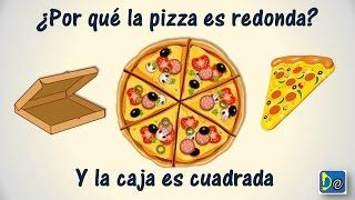 ¿Por que la pizza es redonda si la caja es cuadrada?