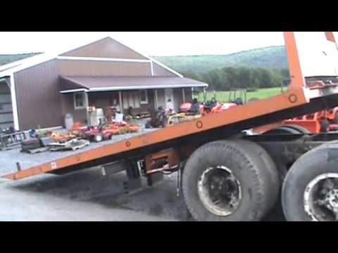 Truck Beds For Sale >> Kilar 22' Steel Roll Back Bed For Truck Ramsey Winch For Sale Mark Supply Co - YouTube