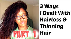 Hair Loss (Part 1) - How I dealt with Regrowth, Causes, Solutions & My Experience with PCOS