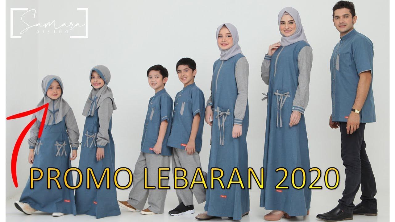 Trend Model Busana Baju Gamis Terbaru Lebaran Sarimbit Couple Keluarga Muslim Modern 2020 Youtube