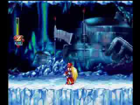 Megaman X6 100% Northpole Area First Pass