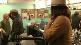 Backstage: Bruce Springsteen and Neil Young - Whip My Hair