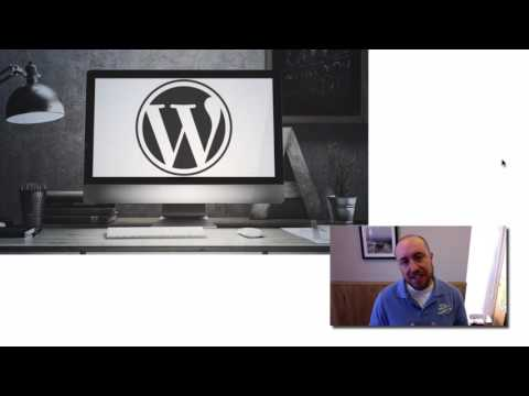Welcome Video for Wordpress Web Design Course