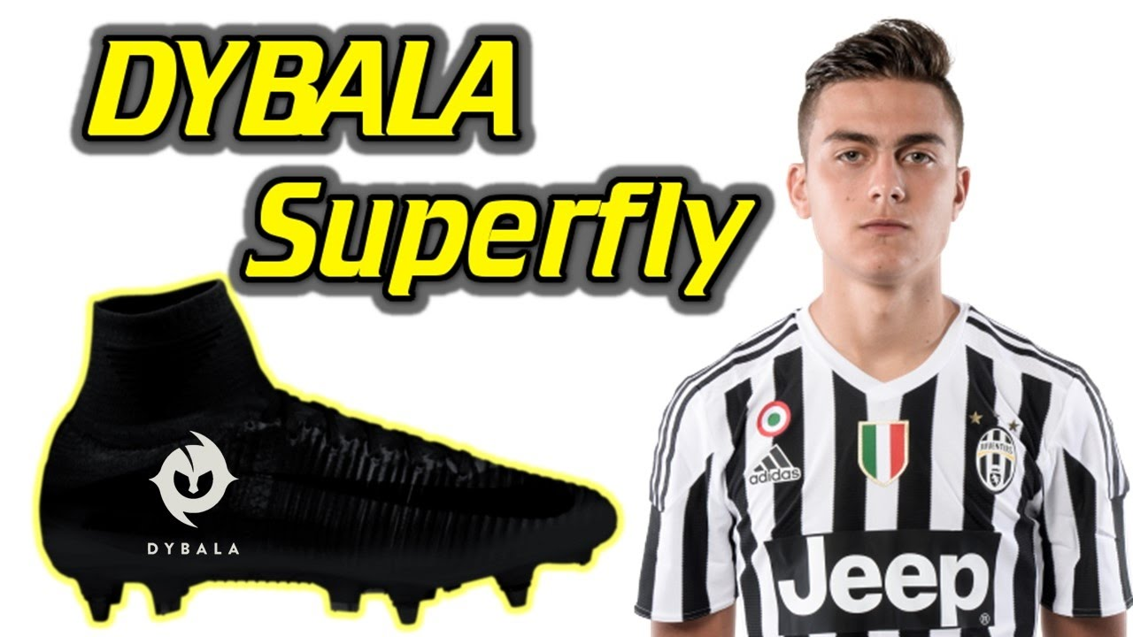 Ganska nice första kurs nytt utseende Dybala Blacked Out Boots Explained - Rebranded Superfly 5 - YouTube