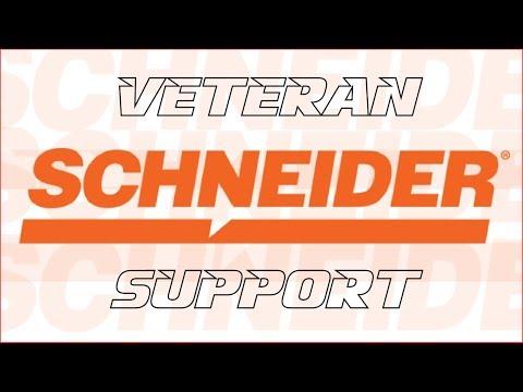 Schneider Supports Our Veterans!