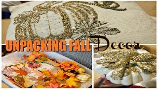 UNPACKING FALL DECOR | TIME TO PURGE| FALL DECOR 2019 | WHAT WAS I THINKING?!
