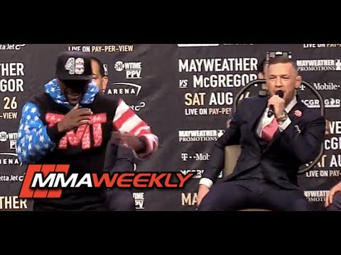 "Thumbnail: Conor McGregor Roasts Floyd Mayweather: ""Dance for Me Boy!"""