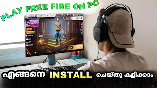 HOW TO PLAY FREE FIRE IN PC || DOWNLOAD AND INSTALL || STEP BY STEP #INSTAGAMER