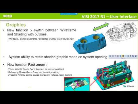 VISI 2017 R1 CAD Webinar
