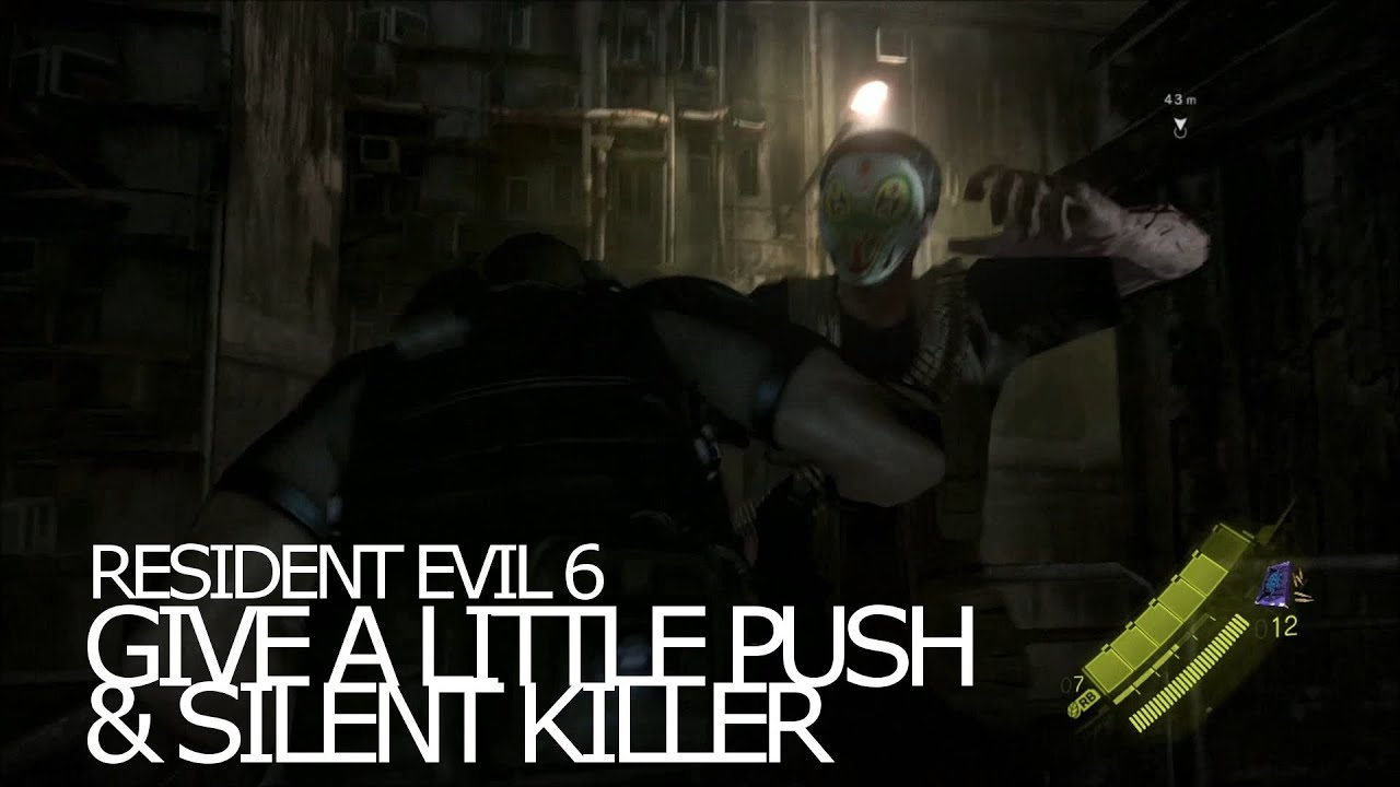 Resident evil 6 где найти автомат медведь