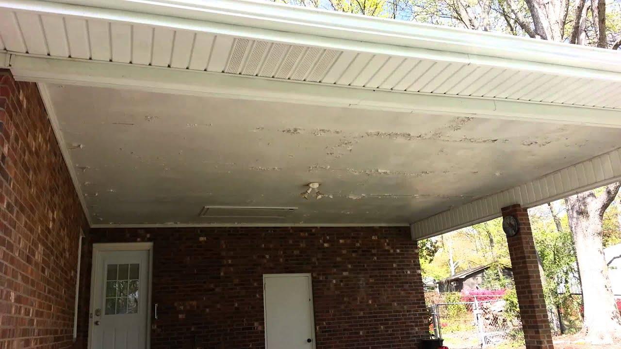 Installing Vinyl Soffit Carport Ceiling Taraba Home Review