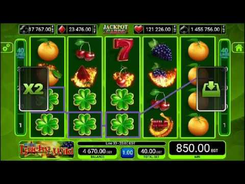 Slot machine -  More Lucky & Wild