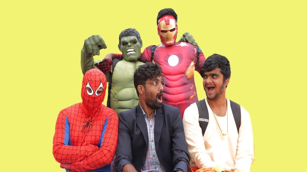 Super Hero Fight in Class #Chottabheam #fight #hulk  | Khandesh Comedy Video | Shafeeq and Ramzan
